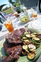 pass (on) the steak