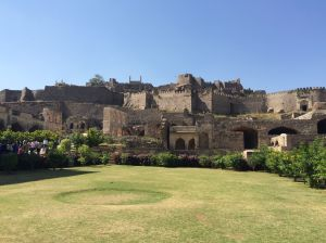 Fort Golkonda, in Hyderabad