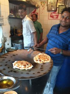 Naan, in Calcutta.